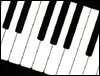 Piano Keys Mousepad