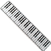 Piano Keys Sign